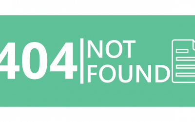 HOW TO SOLVE ERROR 404 NOT FOUND?
